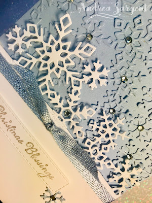 Partial die cutting, So Many Stars, Stampin Up, Andrea Sargent, Valley Inspirations, Light & Peace, Stitched Rectangles, Add a Little Shimmer, blog hop, Art with Heart, AWHT, 2019, Holiday Catalogue, Christmas