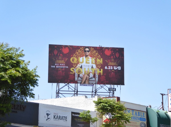Queen of the South TV series billboard