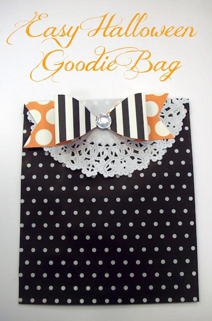 Easy Halloween Goodie Bag