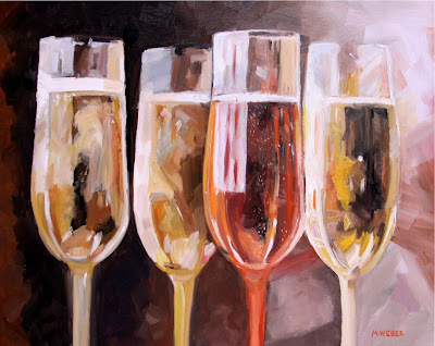 champagne-painting-merrill-weber