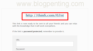 url protect password
