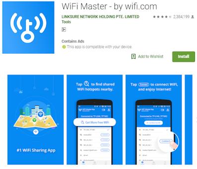 Wifi Gratis on line tanpa password id gratis
