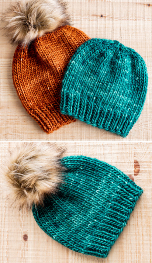 Super Bulky Hats - Free Pattern