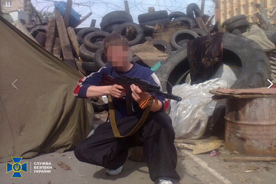 SSU CI detains militant who stormed SSU building in Luhansk in 2014