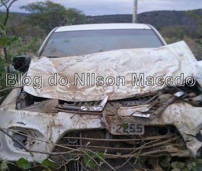 SANTA CRUZ-PE: Prefeito de Santa Filomena sofre acidente de trânsito na PE-625