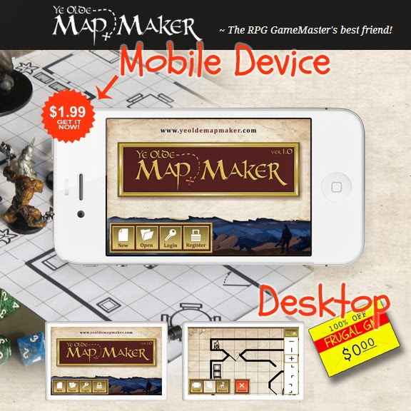 Free GM Resource: Ye Olde Map Maker