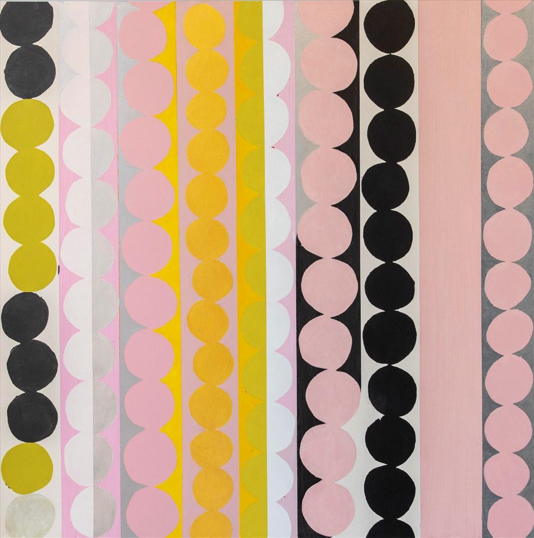 Jennifer Durrant RA - Ghirlanda Series, Sighs To Sing, No. 1 (acrylic) - Royal Academy Summer Exhibition 2021 - London lifestyle & culture blog