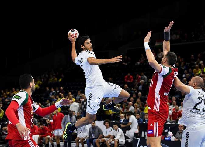 مباراة مصر واستراليا في مواجهة تحديد الميداليه البرونزيه في كرة اليد