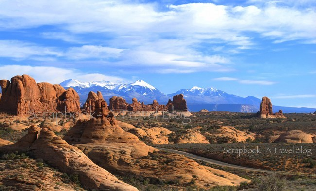 Landscape from Arches National Park