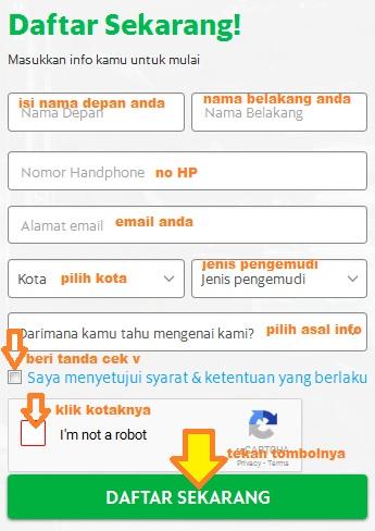 Alamat email grab