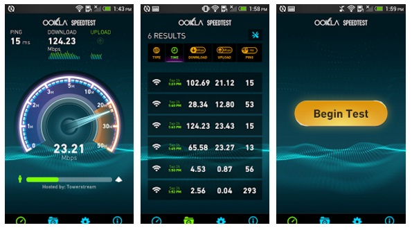 ookla speedtest in mobile