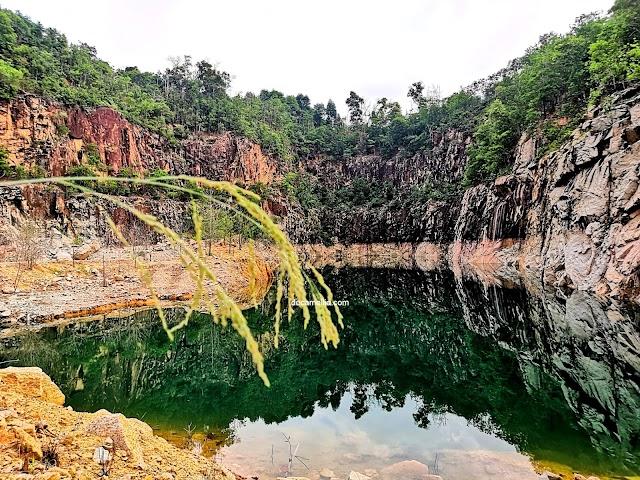 Tasik Biru Seri Alam Keindahan Tersembunyi di Masai, Johor