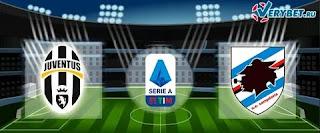 «Ювентус» — «Сампдория»: прогноз на матч, где будет трансляция смотреть онлайн в 22:45 МСК. 26.07.2020г.