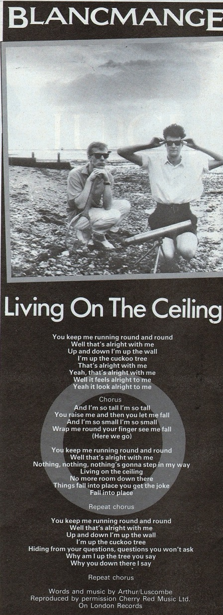 Top Of The Pops 80s: Blancmange - Living on the Ceiling - 1982