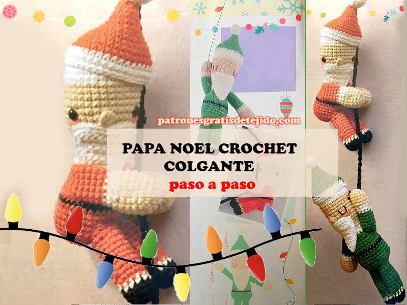 Muñeco amigurumi Papá Noel - amigurumis crochet y ganchillo ... | 600x800