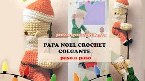 Papá Noel Amigurumi 🎅🏼 Patrones crochet paso a paso