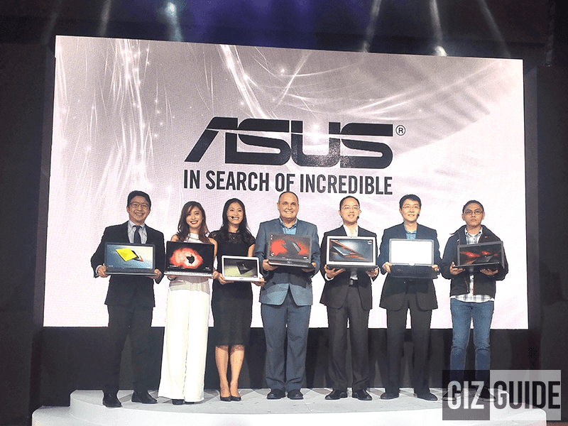 Asus Also Introduced Their Latest Line Of Notebooks And AIO That Runs On Windows 10!