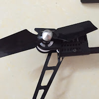 Wltoys V950 Brushless Rc Helicopter Tail motor Top View