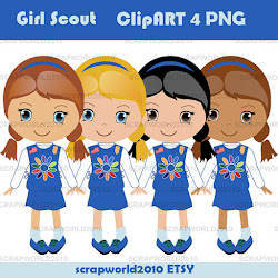 clip scout clipart scouts commercial boy daisy printable cartoon troop scouting category