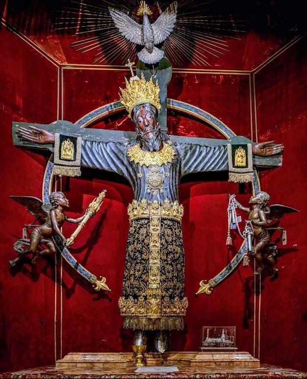 Volto Santo de Lucca chegou de Terra Santa no ano782