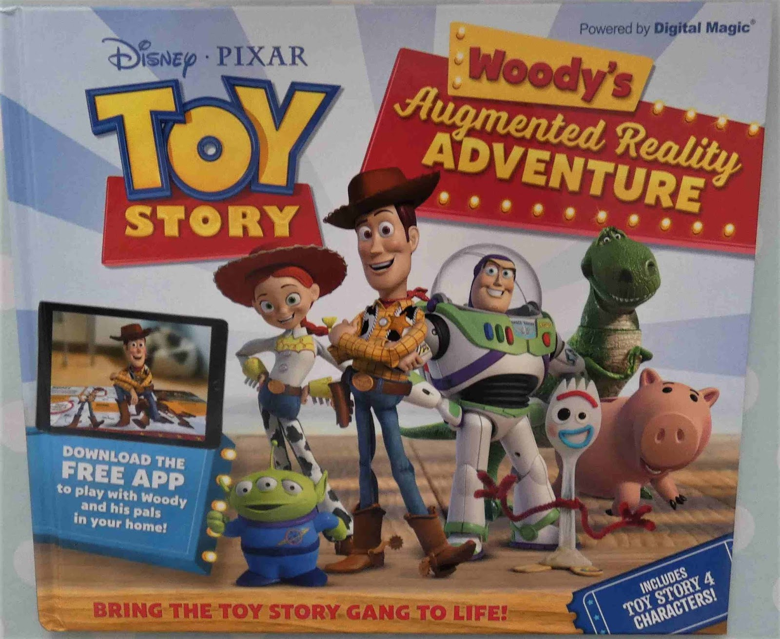 19f6486fc14 Disney Pixar Toy Story : Woody's Augmented Reality Adventure book ...