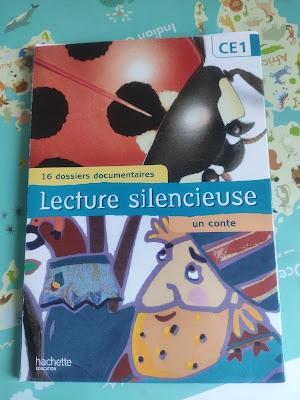 lecture silencieuse CE1 mes filles et moi