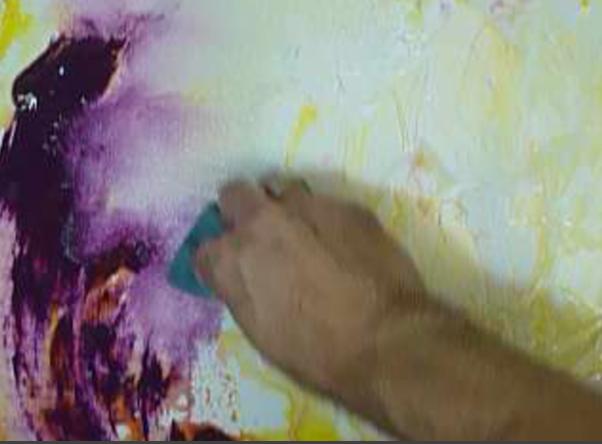 Blending Using Sponge Acrylic Painting Techniques By Peter Dranitsin