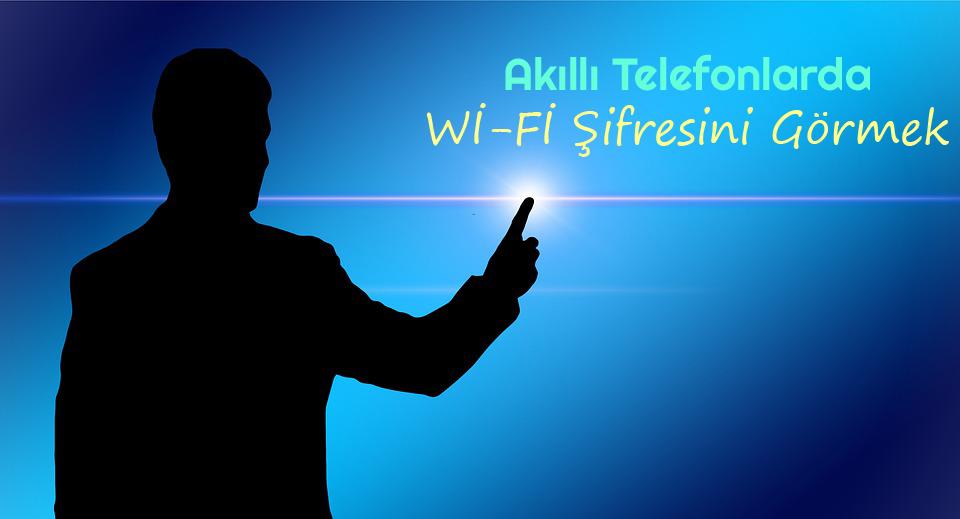 Android Telefonlarda WiFi Şifrelerini Görmek