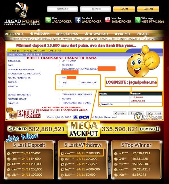 Deposit 1 Juta Menang 7 Juta Situs Judi Online Mudah Menang Harus Di Viral Kan