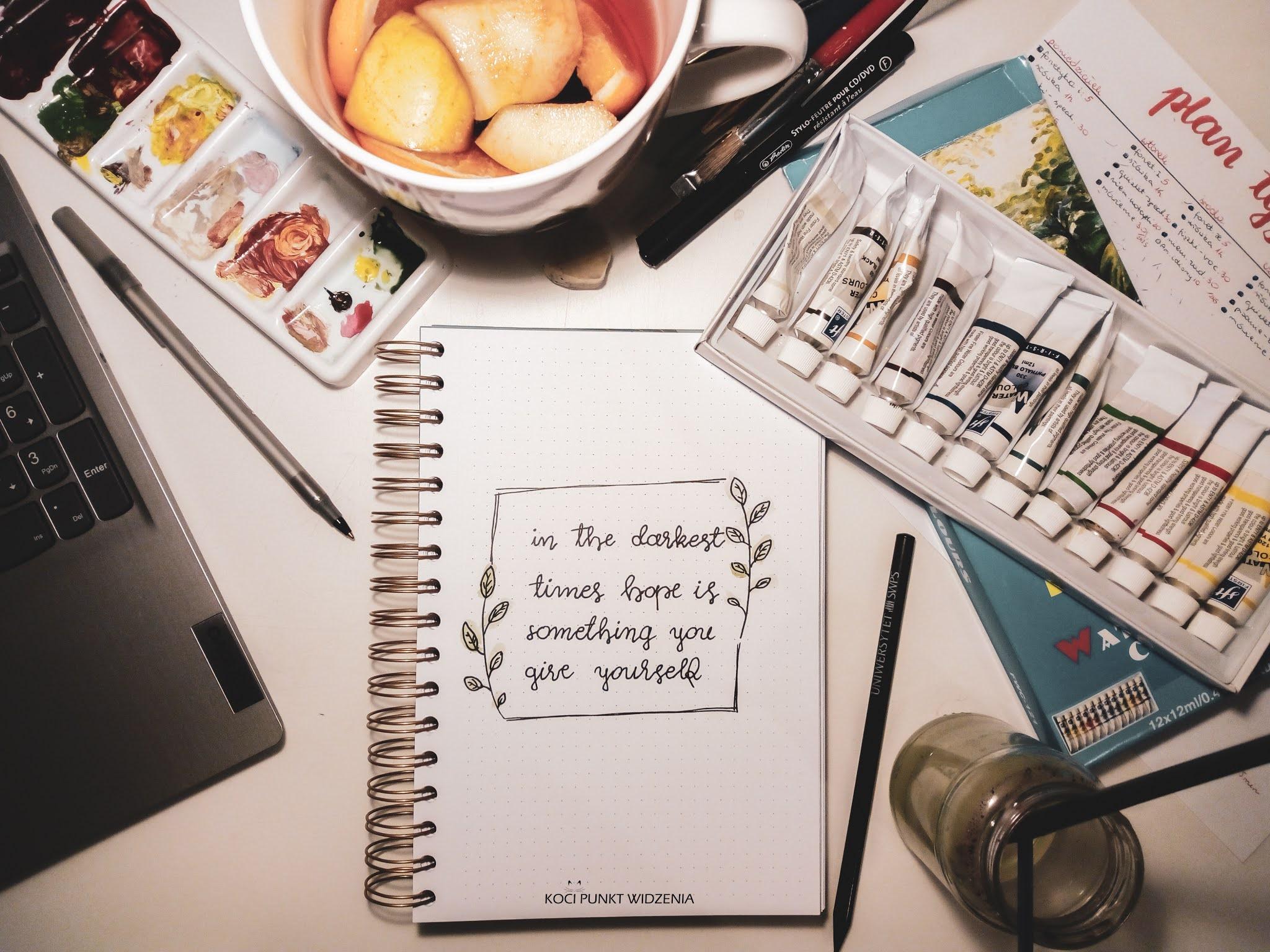 notes pełen czasu planowanie