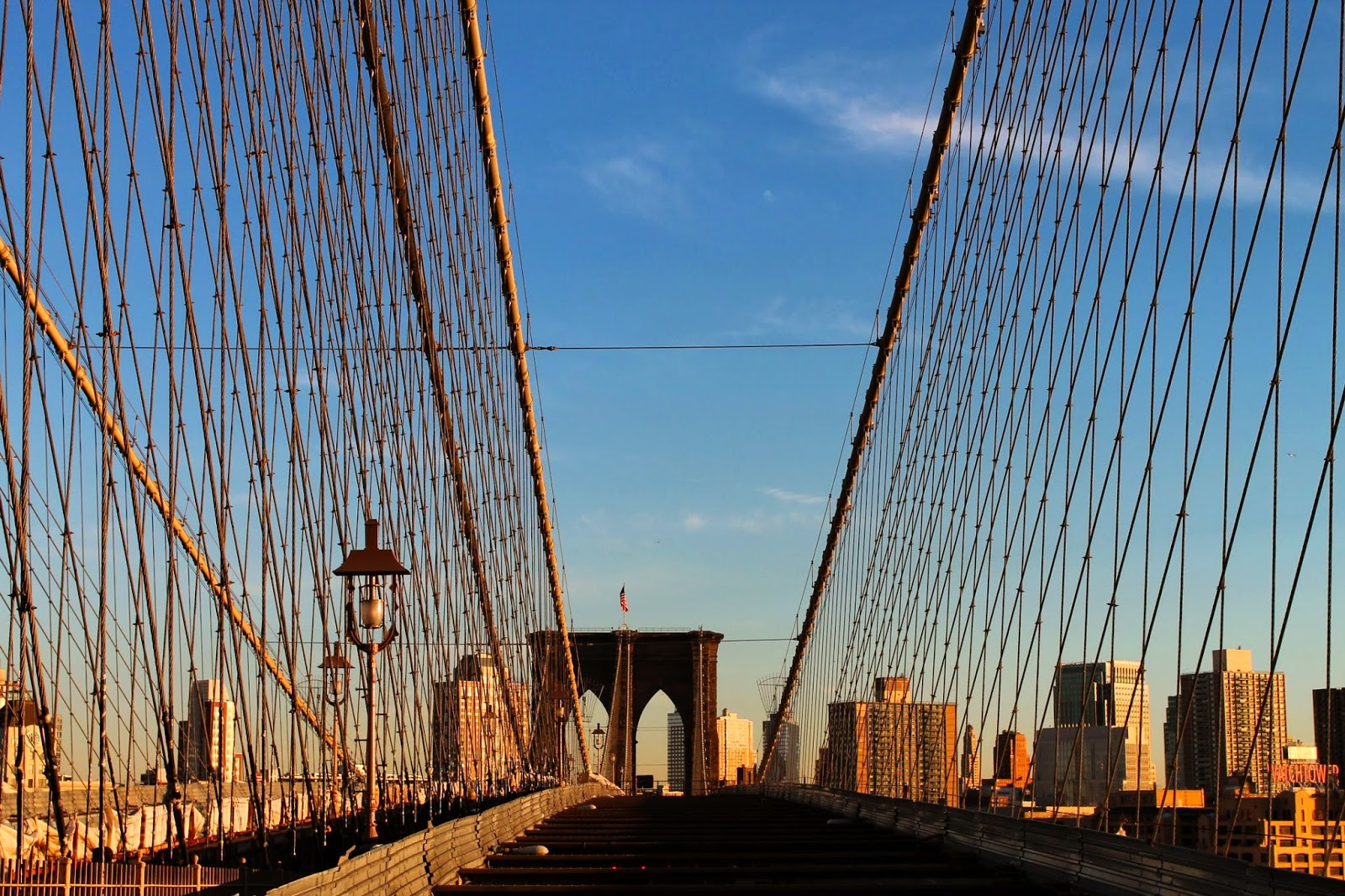 Pensieri In Viaggio Il Tempo Si Dilata Sul Ponte Di Brooklyn