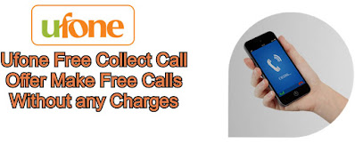 ufone collect call code