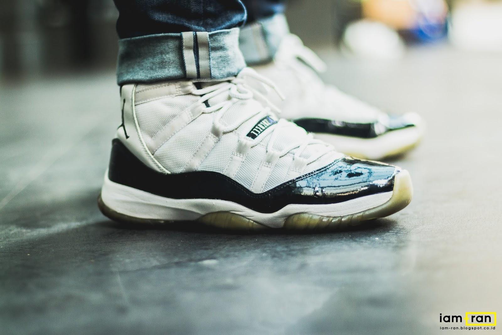 28fcbb072f881a IAM-RAN  ON FEET   Ryan - Nike Air Jordan 11 Concord
