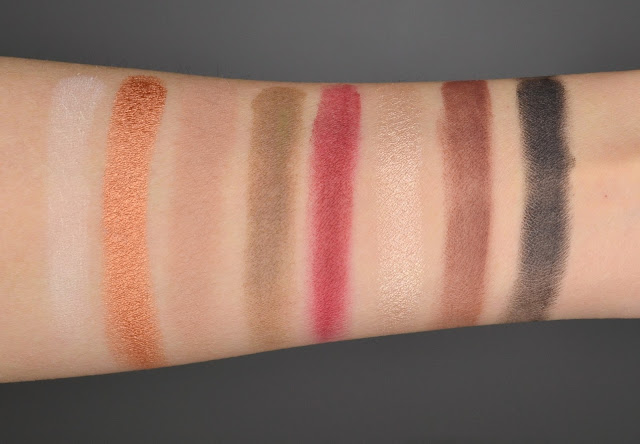 Lustrous Shadow Palette Swatches