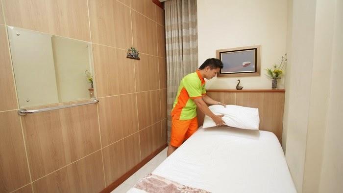 kamar The Cabin Hotel Yogyakarta