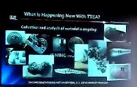 UFO Fragments Via Slide at CUN During TTSA Slide Presentation