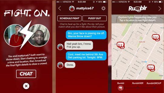 Rumblr, Media Sosial Khusus untuk Saling Adu Jotos