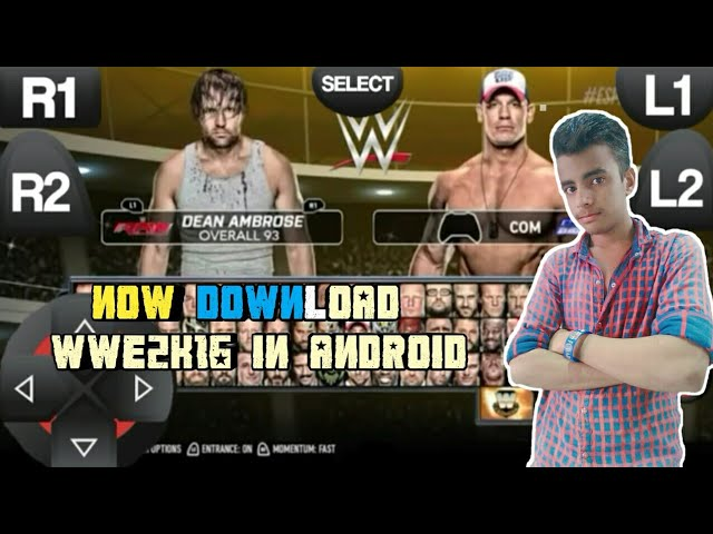 WWE 2K17 PS3 EMULATOR ANDROID GAME DOWNLOAD