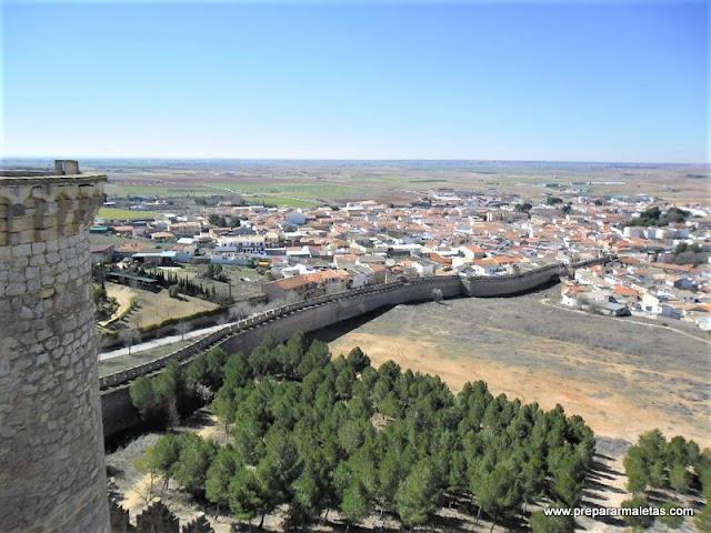 Belmonte y el castillo más bonito de Cuenca