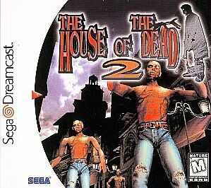 The House of the Dead 2 Sega Dreamcast horror game cover art