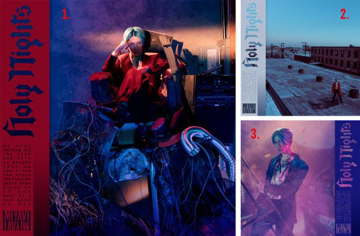 Miyavi - Holy Nights album - portadas
