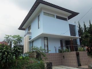 villa minimalis di lembang