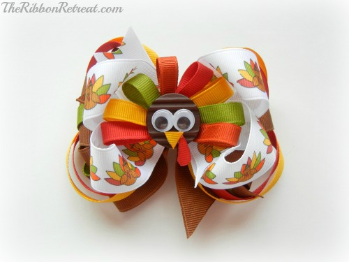 http://www.theribbonretreat.com/blog/thanksgiving-turkey-bow.html