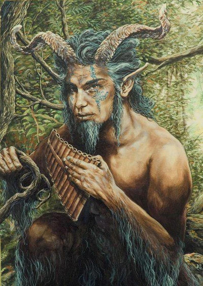 Pã - O Deus Grego Dos Bosques, Dos Campos, Dos Rebanhos e Dos Pastores