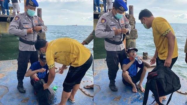 Dedik Coba Renang Pakai 2 Galon Kosong dari Pulau Kalimantan ke Jawa, Nyaris Mati di Laut