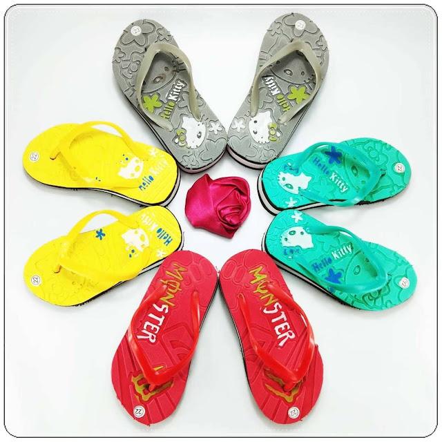 Sandal HK Tebal Baby GSJ || WWW.GROSIRSANDALJEPIT.COM
