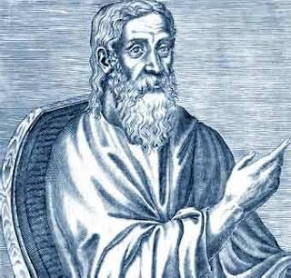 San Clemente de Alejandría, junto con Orígenes uno de los mas brillantes pensadores del cristianismo primitivo