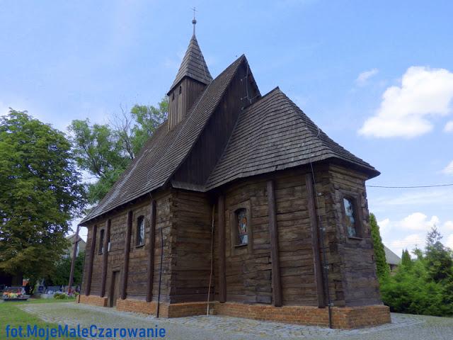 Drewniany Kościół Podwyższenia Krzyża Świętego w Smarchowicach Śląskich woj. opolskie - CZYTAJ DALEJ