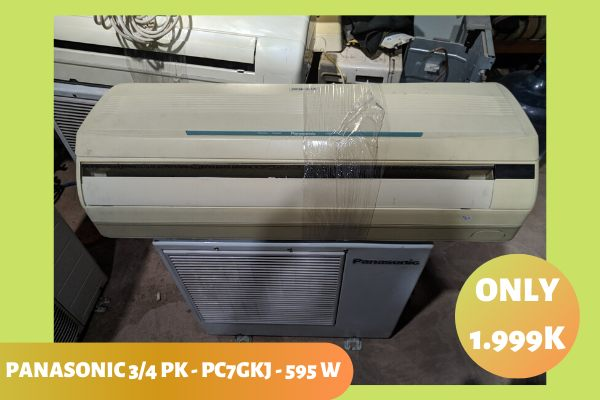 Jual AC Panasonic Organic 34 PK Low Watt Gratis Pasang