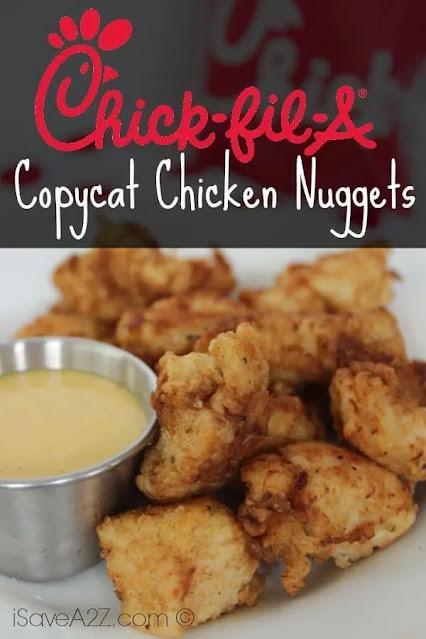 Copycat Chick-fil-a-Nuggets